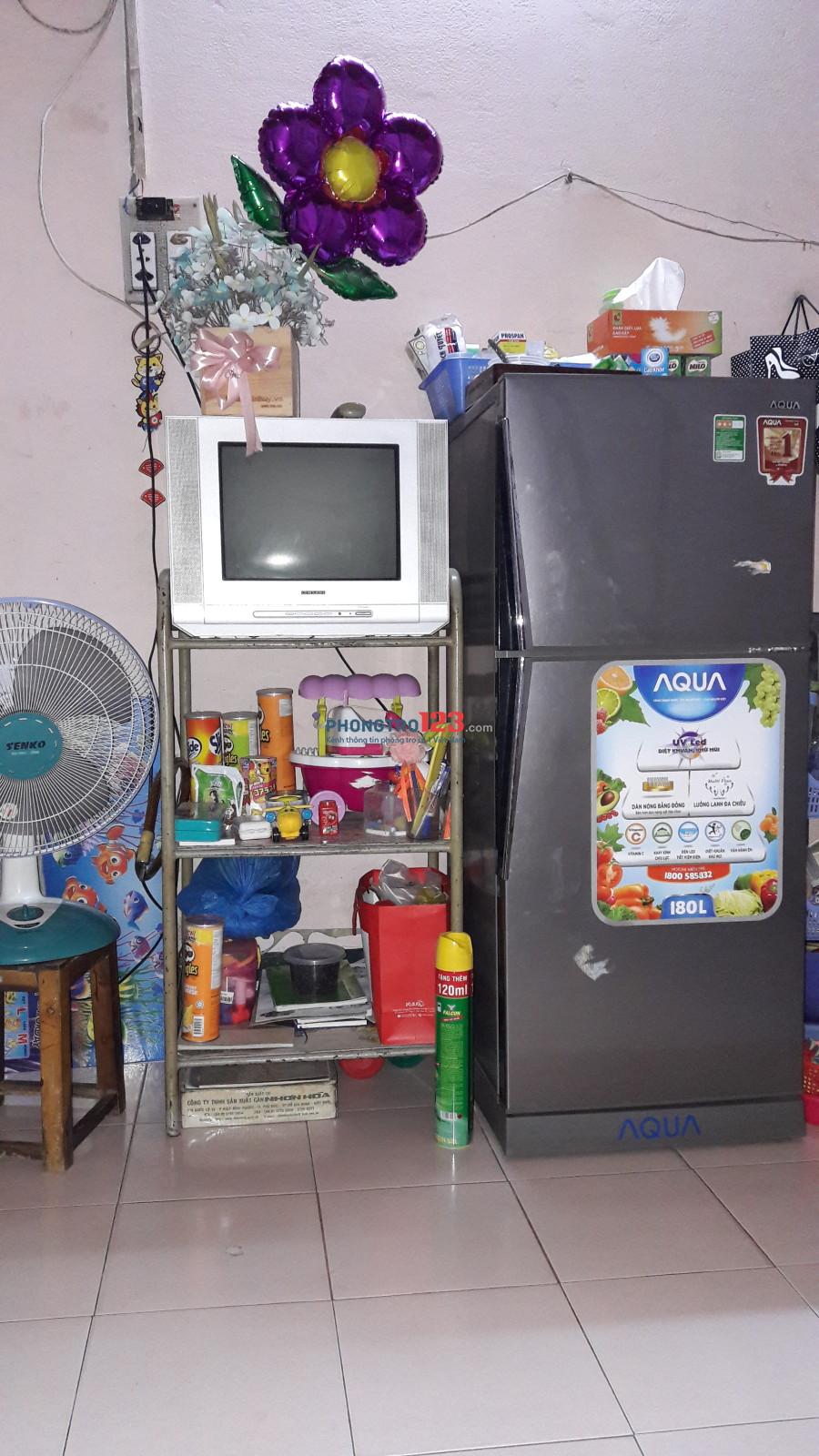 Còn dư 1 phòng cần nữ ở ghép tại Huỳnh Tấn Phát, Quận 7