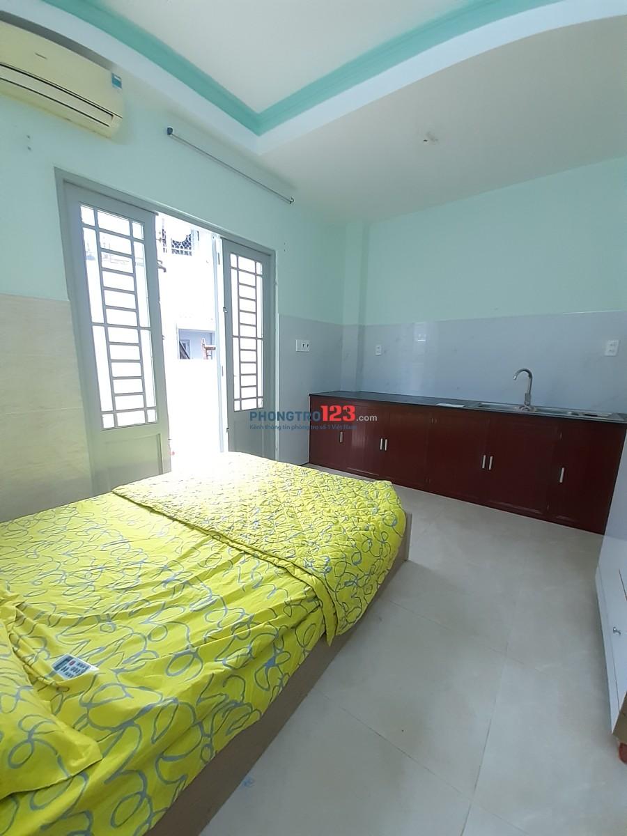 Cho thuê phòng trọ máy lạnh, đầy đủ nội thất Bùi Đình Tuy. Giá 4.5tr/thg
