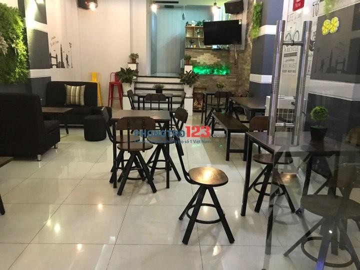 Sang quán cafe trà sữa, ăn vặt tại quận 9