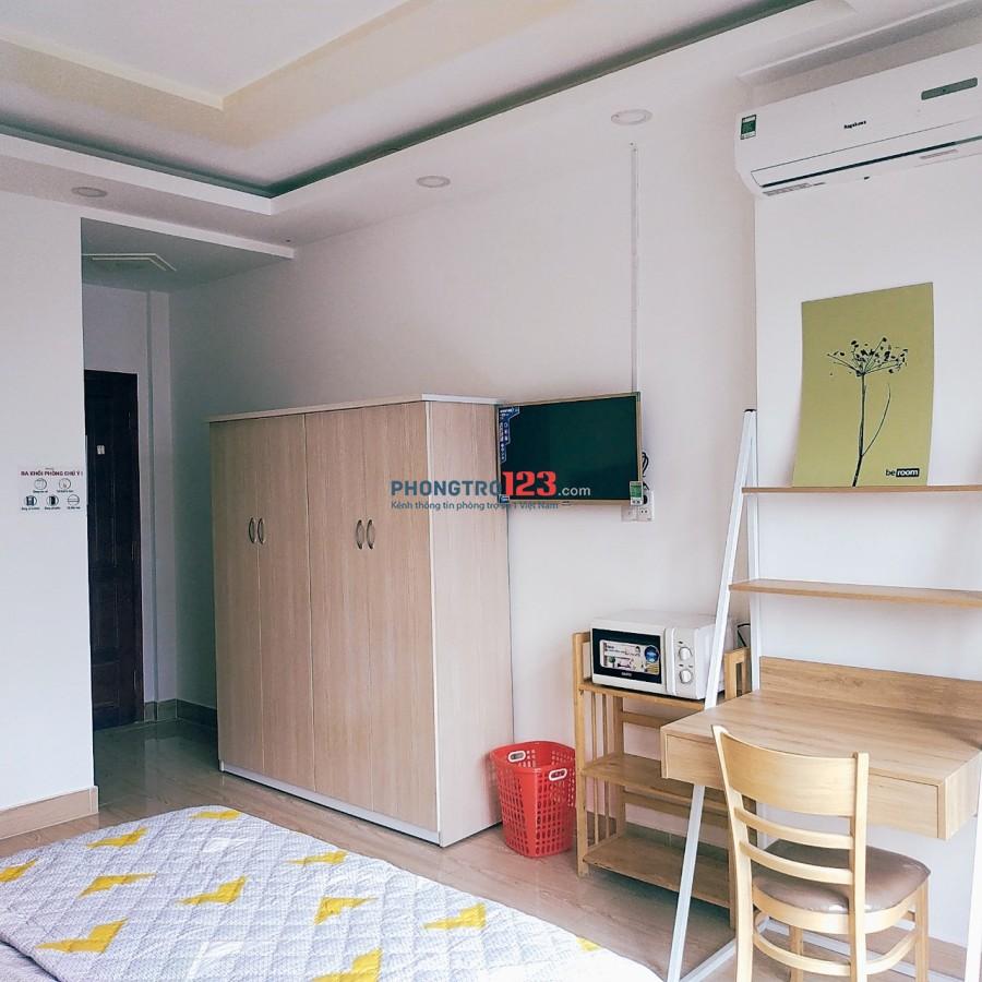 Chỉ còn 2 phòng mặt tiền Phú Nhuận full nội thất giá 5,5 triệu.
