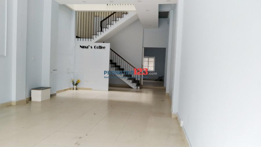 Cho thuê mặt bằng văn phòng và tầng 2 mặt tiền Đường số 7, P.7, Q.Gò Vấp. LH Ms Khuyến
