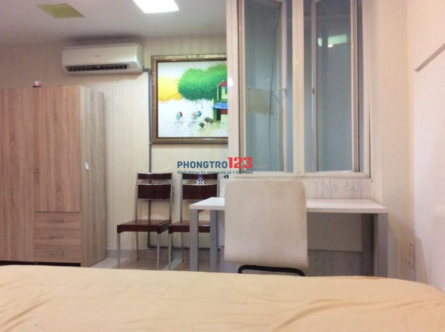 Phòng cho thuê cao cấp yên tĩnh, tự do 24/24, đường Bùi Hữu Nghĩa, quận Bình Thạnh