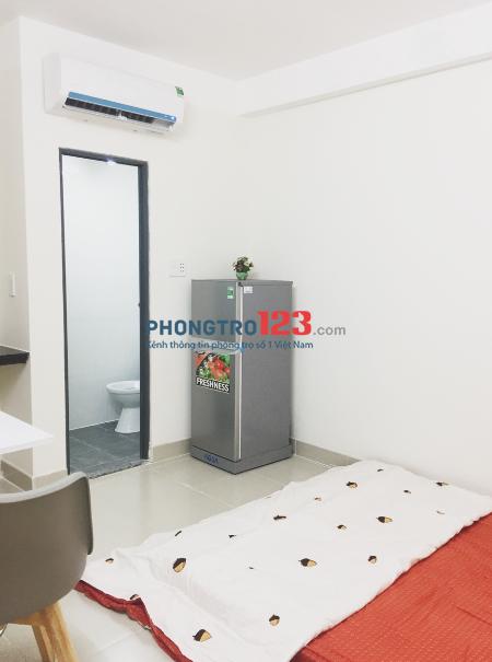 Phòng trọ mới xây với nội thất tiện nghi ở quận Bình Thạnh
