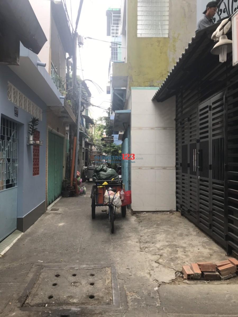 Cho thuê nhà nguyên căn 3 lầu hẻm Trần Khắc Chân, Q.1. Giá 21tr/tháng, LH Ms Hạnh