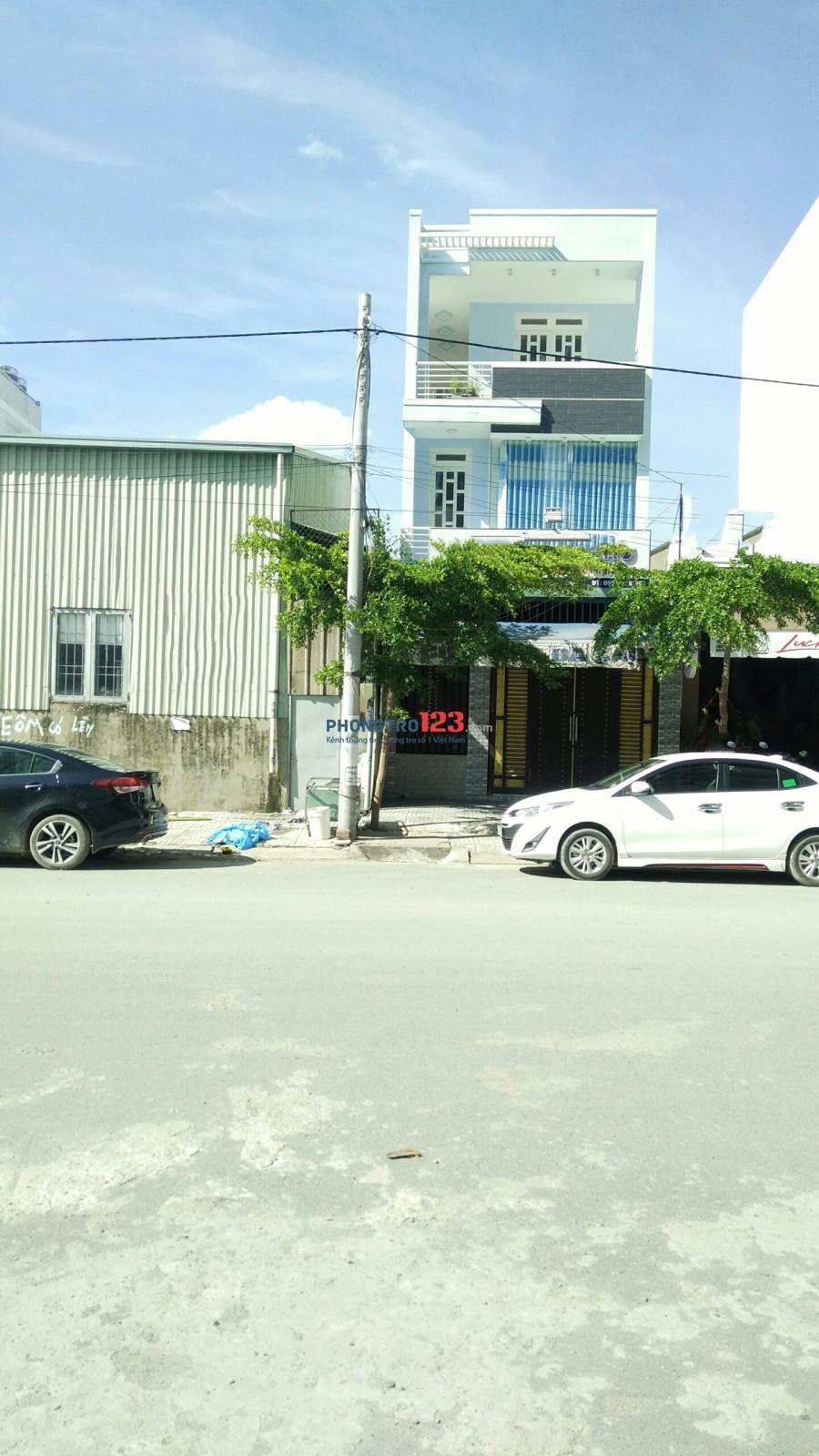 Nhà 5 x 17, 1 trệt, 2 lầu, 4pn, 3wc đường Cây Keo cho thuê
