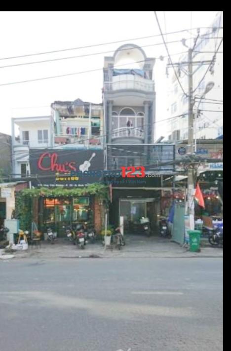 Chính chủ cho thuê nhà 2 căn đôi mặt tiền Đường Ung Văn Khiêm, Q.Bình Thạnh Ms Hương