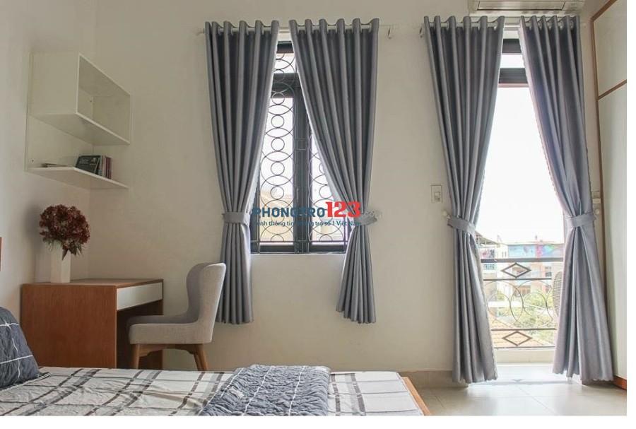 Cho thuê căn hộ mini đường Trần Quang Diệu, trung tâm quận 3. Full nội thất mới 100%