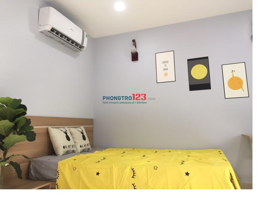 Cho thuê căn hộ cao cấp Trần Hưng Đạo, Quận 1. Full tiện nghi, thang máy