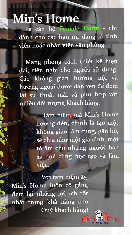 Cho nữ sinh viên hoặc nữ văn phòng thuê KTX cao cấp tại Gò Vấp