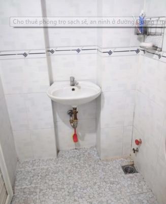Cho thuê phòng trọ mới xây, sạch sẽ, an ninh tại đường Quang Trung, quận Gò Vấp