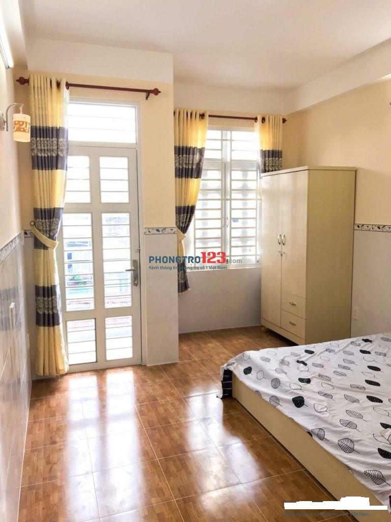 Phòng sạch đẹp, thang máy, bảo vệ, đầy đủ tiện nghi Nguyễn Oanh, Gò Vấp, giá 2.6tr/th