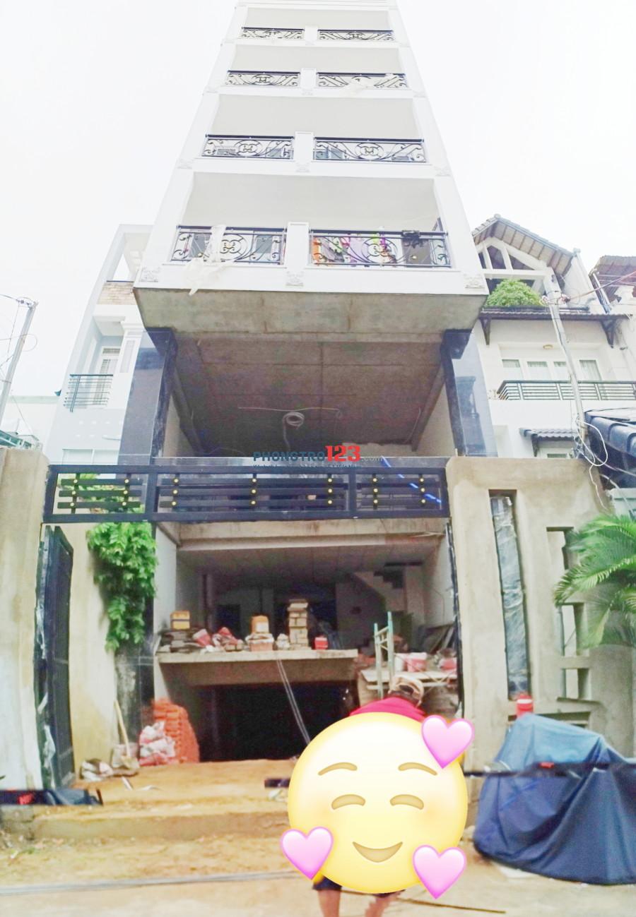 Cho thuê phòng trọ sắp xây xong ngay trung tâm Tô Hiến Thành