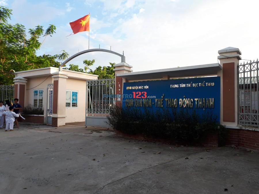 Cho thuê nhà nguyên căn 4x30 đối diện trường học đường Đặng Thúc Vịnh, Hóc Môn