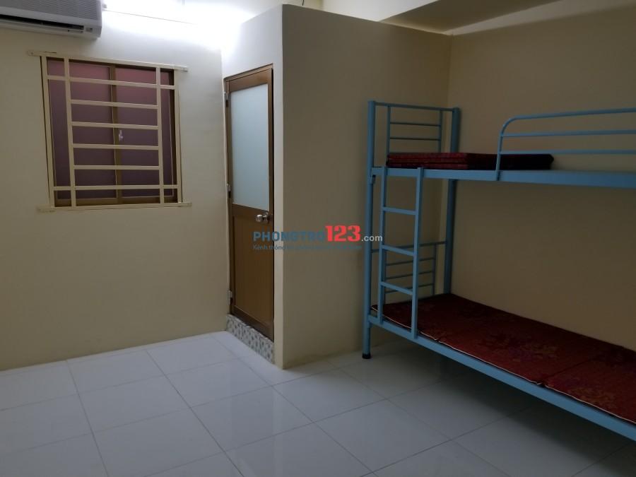 Phòng mới đẹp cho thuê, máy lạnh, giường nệm, thoải mái, gần các trường Đại học, giờ giấc tự do