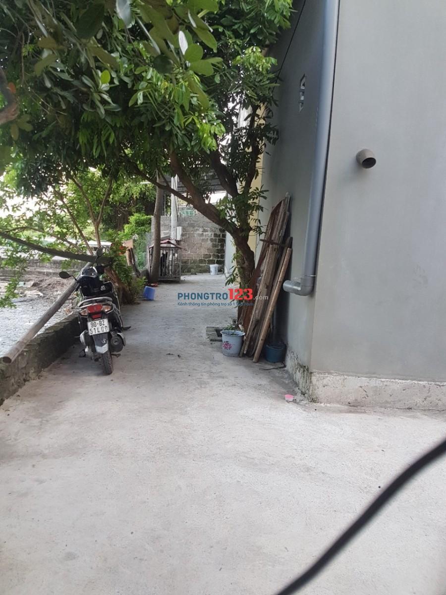 Cho thuê phòng trọ 25m2 Khu Công Nghiệp Đồng Văn 2