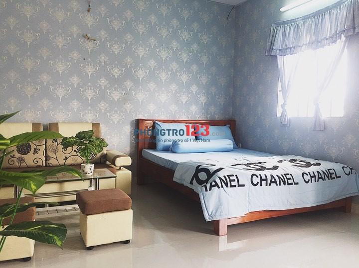 Phòng ngay XVNT gần hàng xanh, full nội thất, có bancol, bảo vệ 24/24 Bình Thạnh