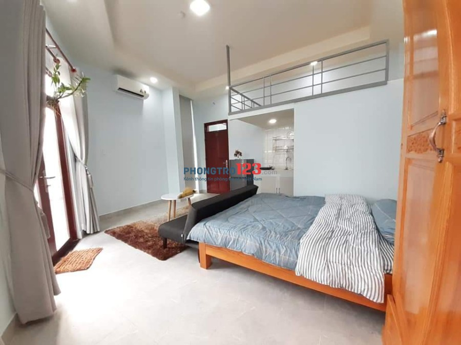 Cho thuê phòng trọ cao cấp có gác giá hạt dẻ Phú Thuận, Quận 7