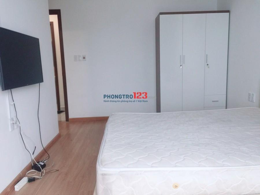 Cho thuê căn hộ Hưng Phát 2 full nội thất với 02 phòng ngủ và 02 wc ngay trên đường Nguyễn Hữu Thọ
