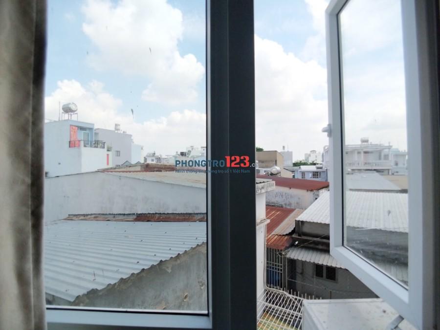 Phòng đẹp đường Nơ Trang Long, nội thất như hình, không chung chủ, tự do giờ giấc, chỉ 4tr5/ tháng