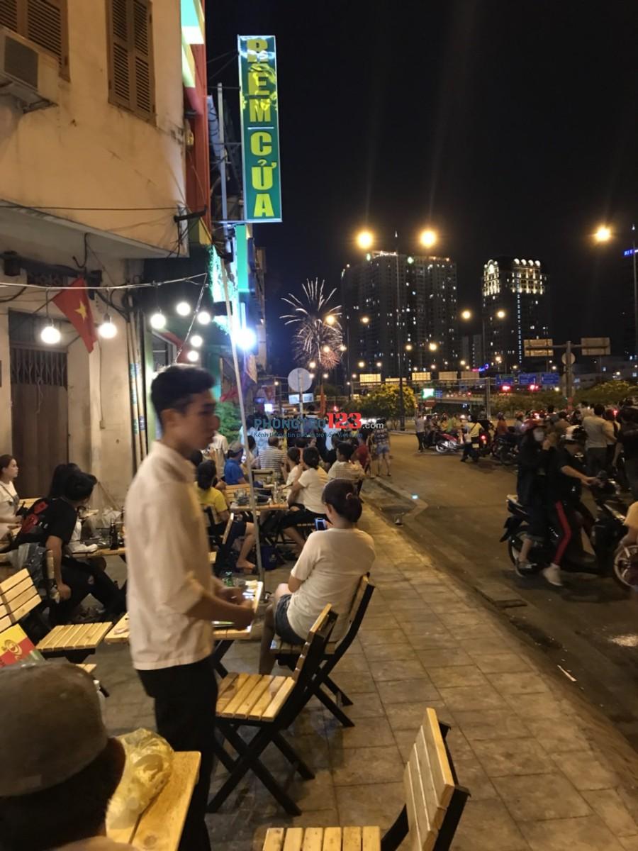 Chính chủ sang lại quán nhậu mặt tiền 160 Võ Văn Kiệt, Q.1. LH Mr Bảo 0977209999