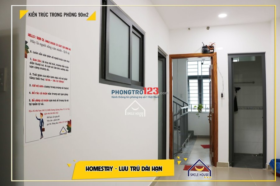 Cho thuê trọ đầy đủ tiện nghi bao trọn gói, giá rẻ dạng homestay Singapore P.5, Gò Vấp