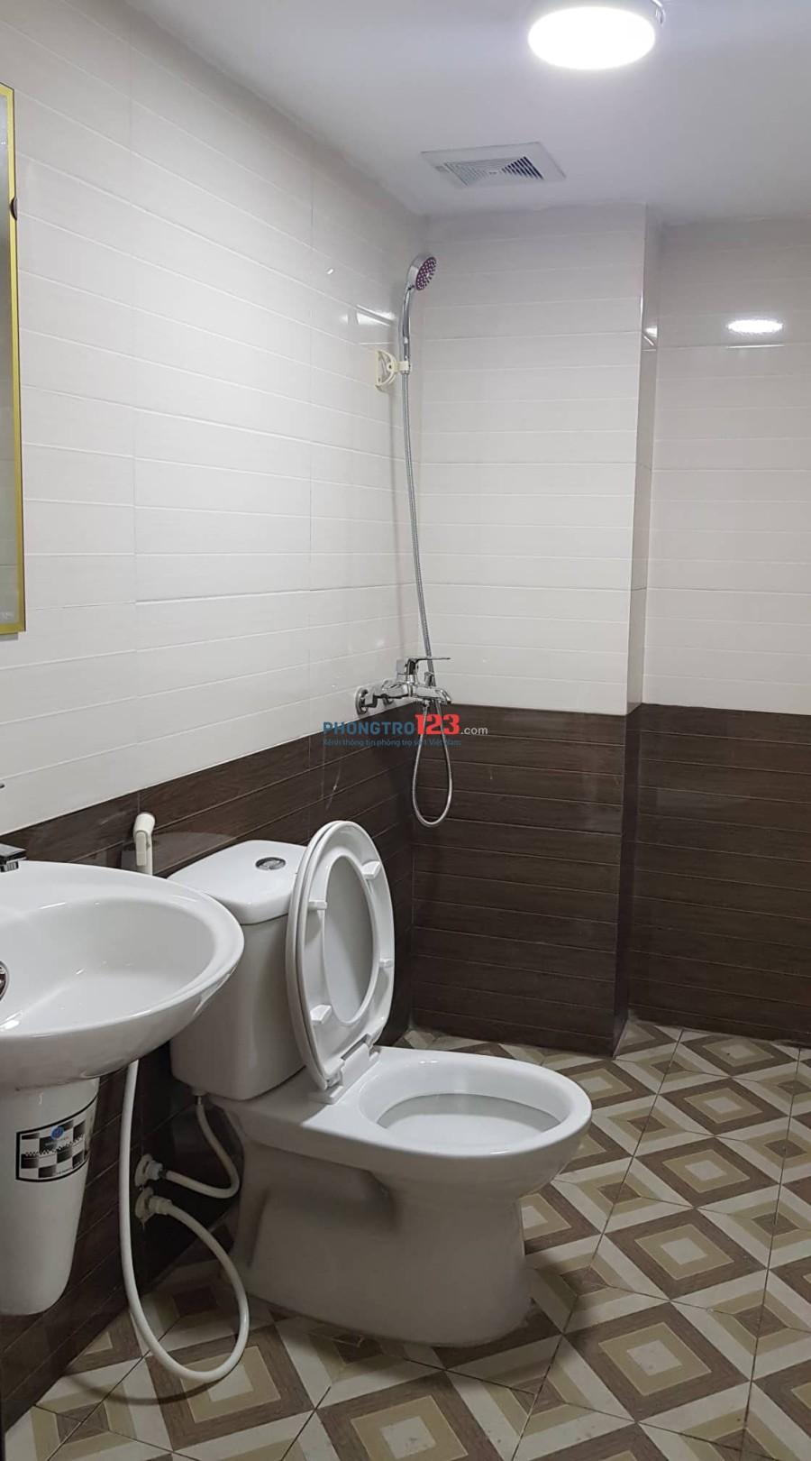 Cho thuê phòng mới xây, trực tiếp không qua trung gian