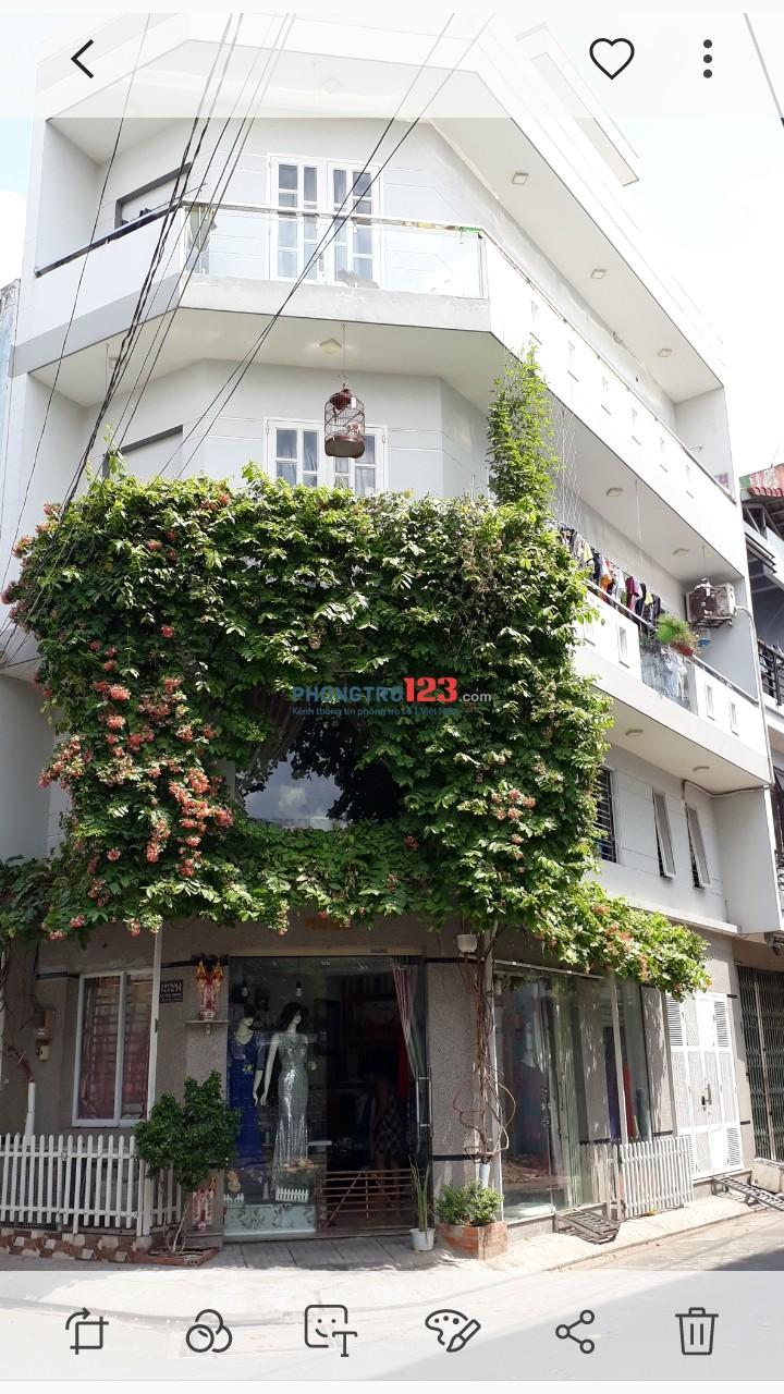 Cho thuê phòng trọ trên lầu 1. Hẻm 227 duong Lê Thúc Hoạch, phuong phu tho hoa quận Tân Phú