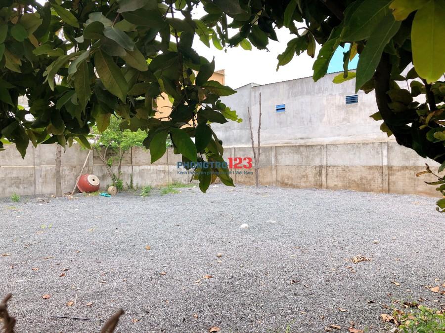 Cho thuê đất 323m2 ngay mặt tiền kinh doanh 2 mặt đường lớn tại Long Thạnh Mỹ, Q.9