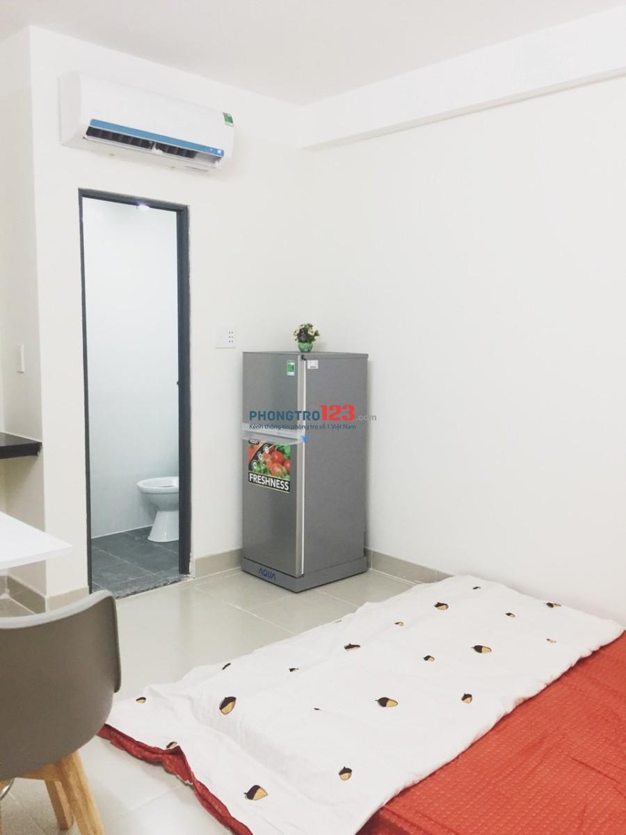 Phòng mới xây 100% đầy đủ tiện nghi, nội thất chưa bóc tem ngay XVNT Bình Thạnh