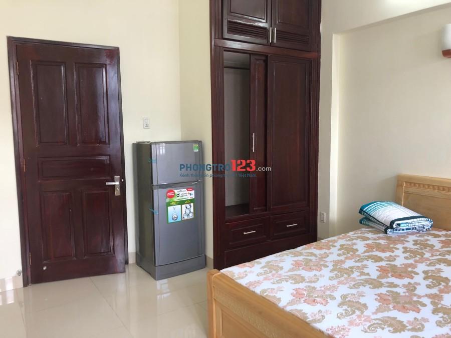 Phòng 25m2 đầy đủ nội thất, KDC An Phú sau Metro Q.2 an ninh, yên tĩnh, văn minh. Giá 5tr5/tháng