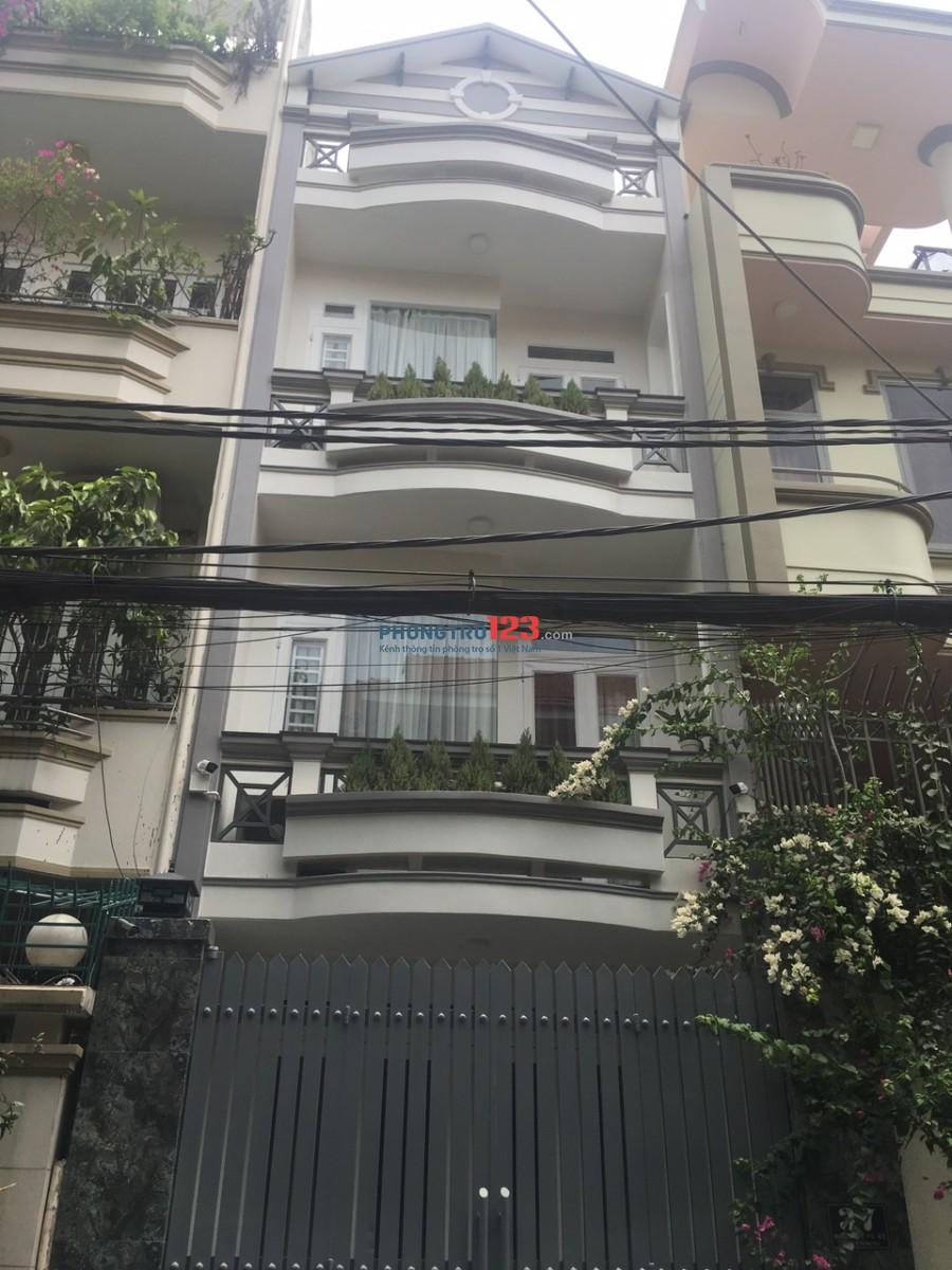 Chủ cần cho thuê nhà MT đường Trần Quốc Hoàn, P.4, Tân Bình, TP.HCM. DT 5,2m x 24m, 1 trệt, lủng, 2 lầu