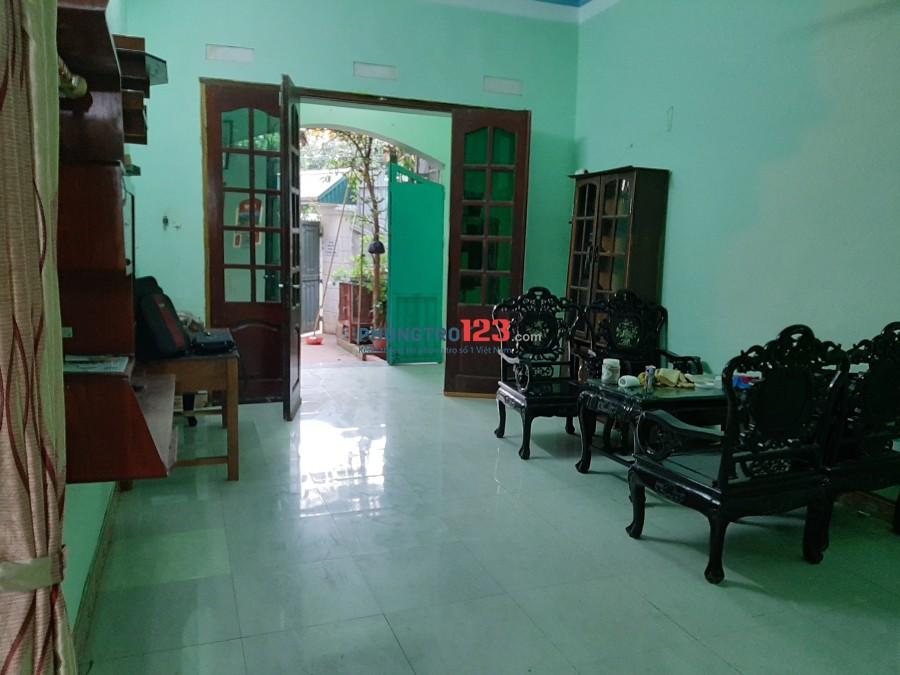 Cho thuê nhà 3 tầng, nguyên căn ở khu công nghệ Cao Hòa Lạc, ĐH FPT