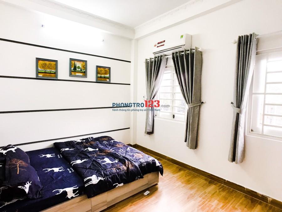 Căn hộ dịch vụ full nội thất Nguyễn Cửu Vân
