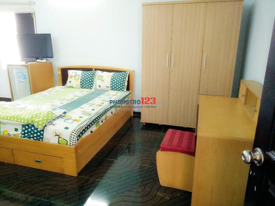 Cho thuê phòng đầy đủ nội thất, 594/5 Điện Biên Phủ vs Nguyễn Thiện Thuật, Quận 3