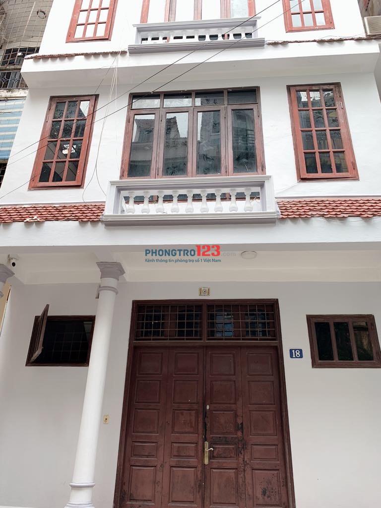 Cho thuê căn hộ khép kín trên phố Lý Nam Đế