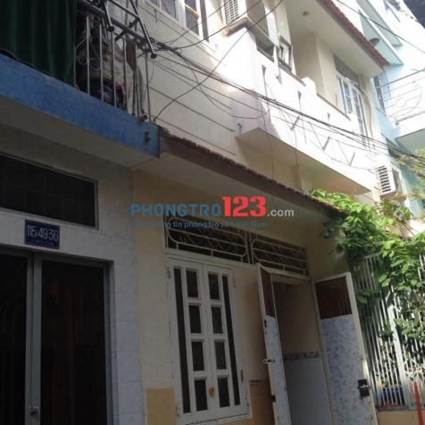 Cho thuê nhà nguyên căn đường Lê Văn Sỹ