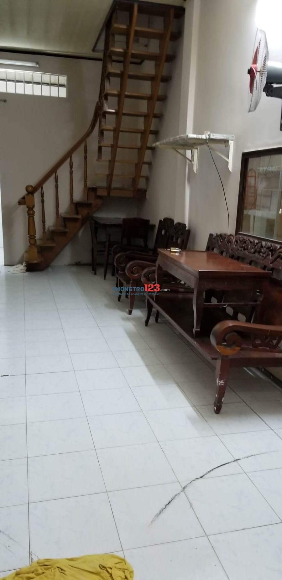 Nhà nguyên căn - 3,5m x 7,5m - trệt + lầu - Phú Nhuận - 7tr800