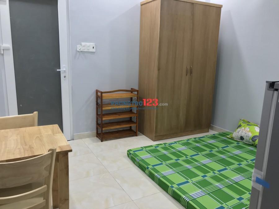 Cho thuê phòng đầy đủ tiện nghi 25m2 đường Bùi Đình Tuý, Q.Bình Thạnh. Giá 5 triệu/tháng
