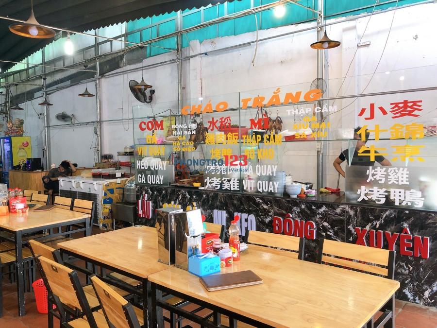 Chính chủ cần sang quán ăn mặt tiền 343 Lê Văn Thọ, P.9, Q.Gò Vấp. LH Mr Tuấn Anh