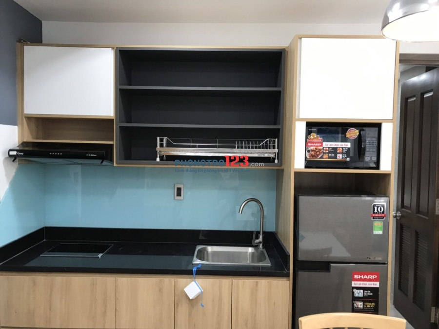 Căn Hộ Studio Mới Xây 40m2, full nội thất ngay GEM CENTER Q1