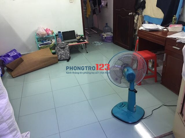 Tìm nữ ở phép phòng 2 người, quận 10, Cao Thắng, HCM