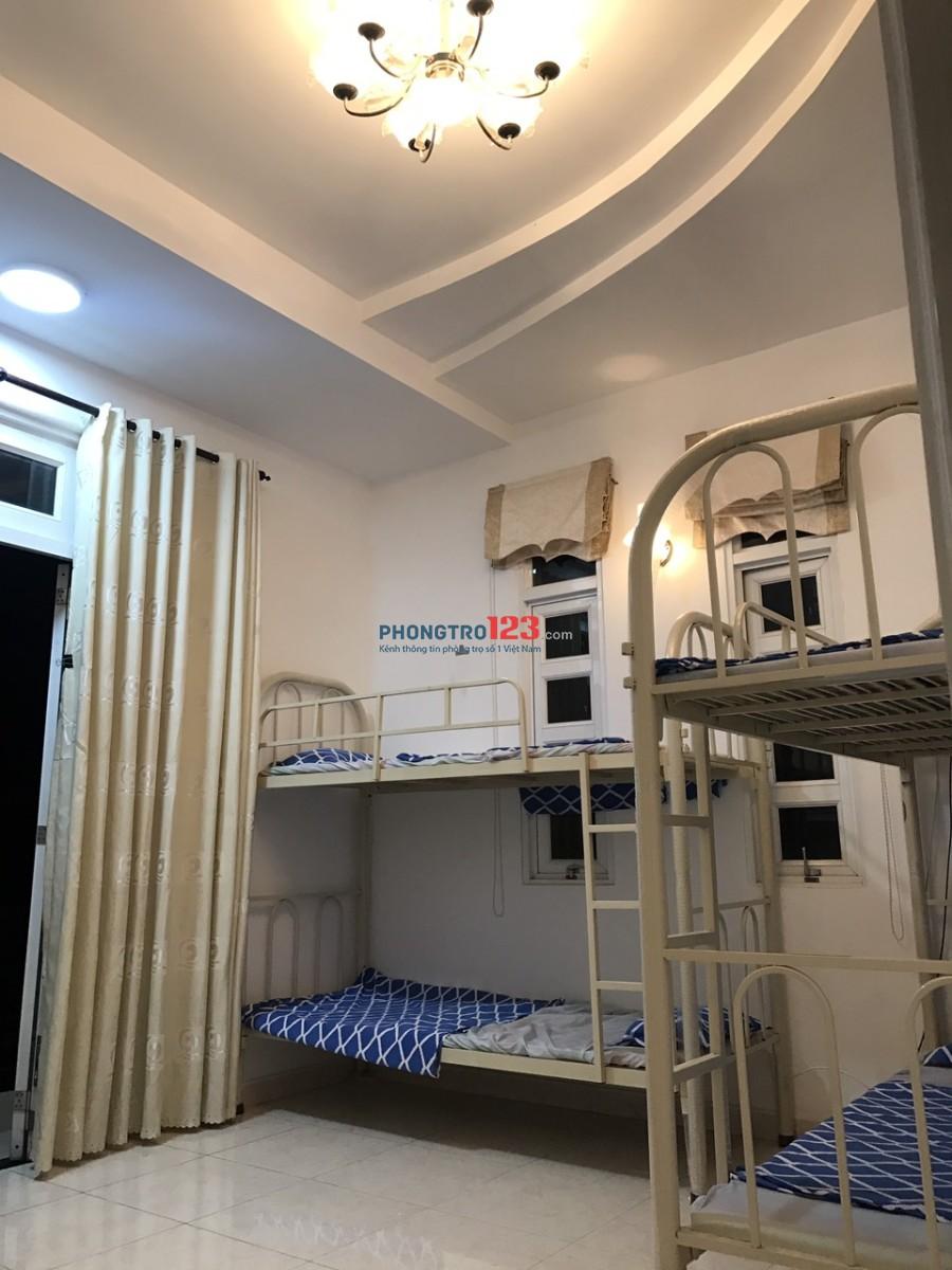 Phòng trọ giường tầng cao cấp cho NAM Gần ĐH Hutech và Quận 1