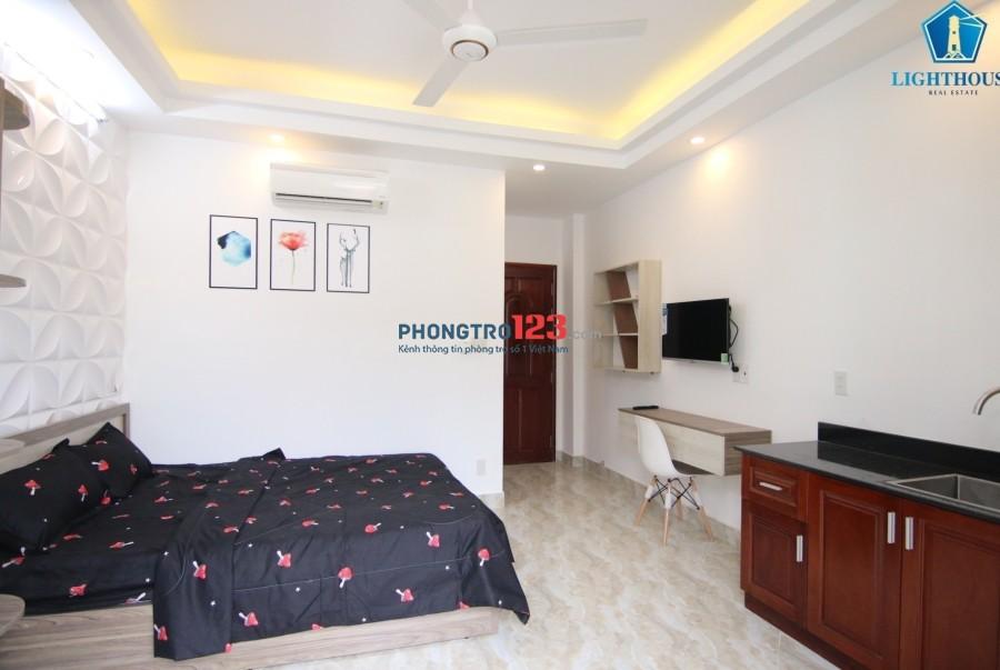 Cho thuê căn hộ cao cấp ở trung tâm Tân Bình. Mới 100% dọn vào ở ngay