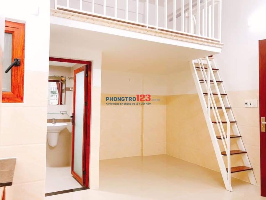Cho thuê phòng trọ cao cấp Tân Quy, cách Lotte Mart 500m, mới xây, máy lạnh, bao giặt giá từ 4.5tr