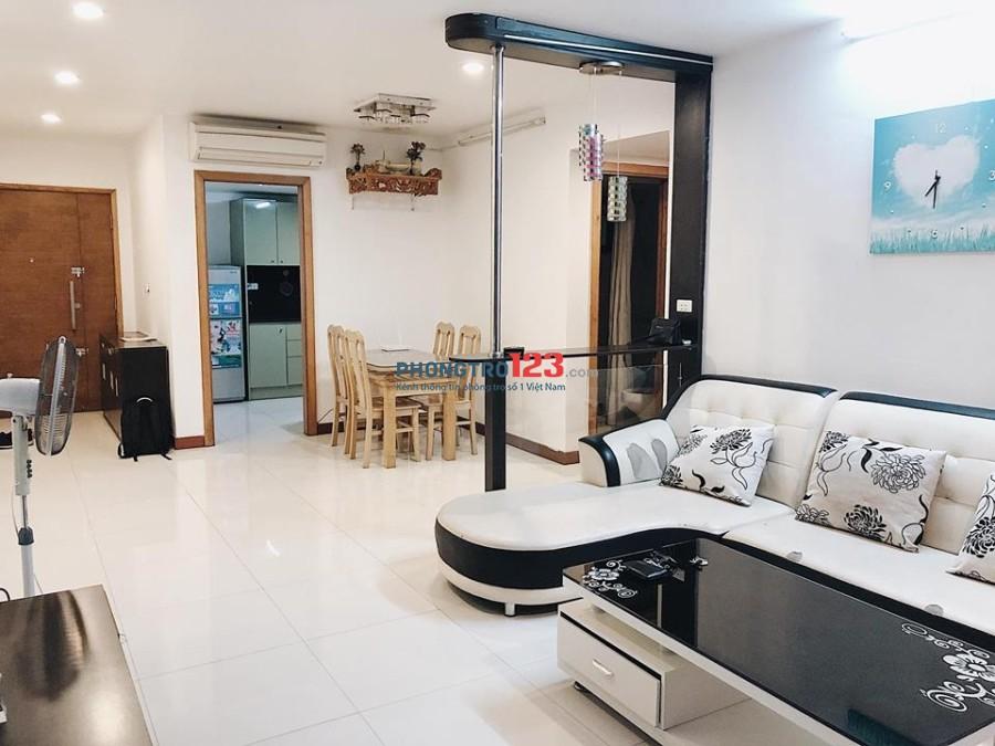 Chính chủ cho thuê căn hộ Chelseapark 100m2, 2pn, đầy đủ nội thất. LH 0889913388
