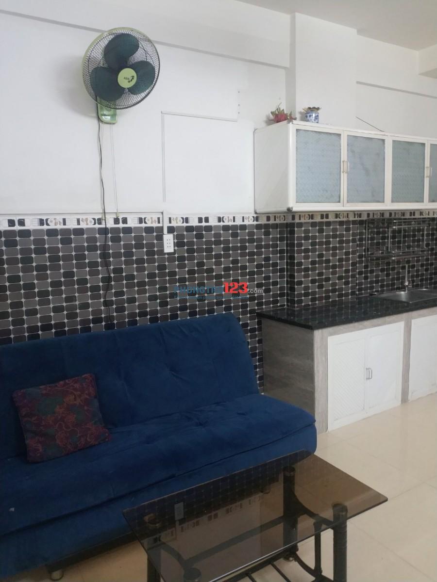 Chính chủ cho thuê căn hộ An Phúc, Q.2 40m2 Full nội thất giá 6tr/tháng. LH Ms Lan