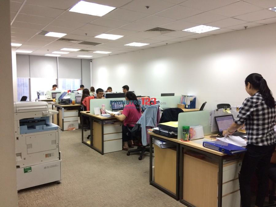 Cho thuê văn phòng tòa nhà Tôn Đức Thắng-Q.1, view đẹp-DT 200m2 (160tr) LH: 0906566833