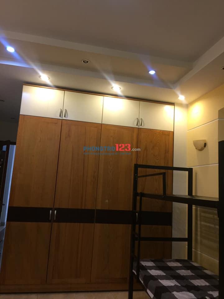 Chính chủ cho thuê phòng cao cấp mới xây ngay đường Hà Huy Giáp, Q.12, giá thuê rẻ cho sinh viên
