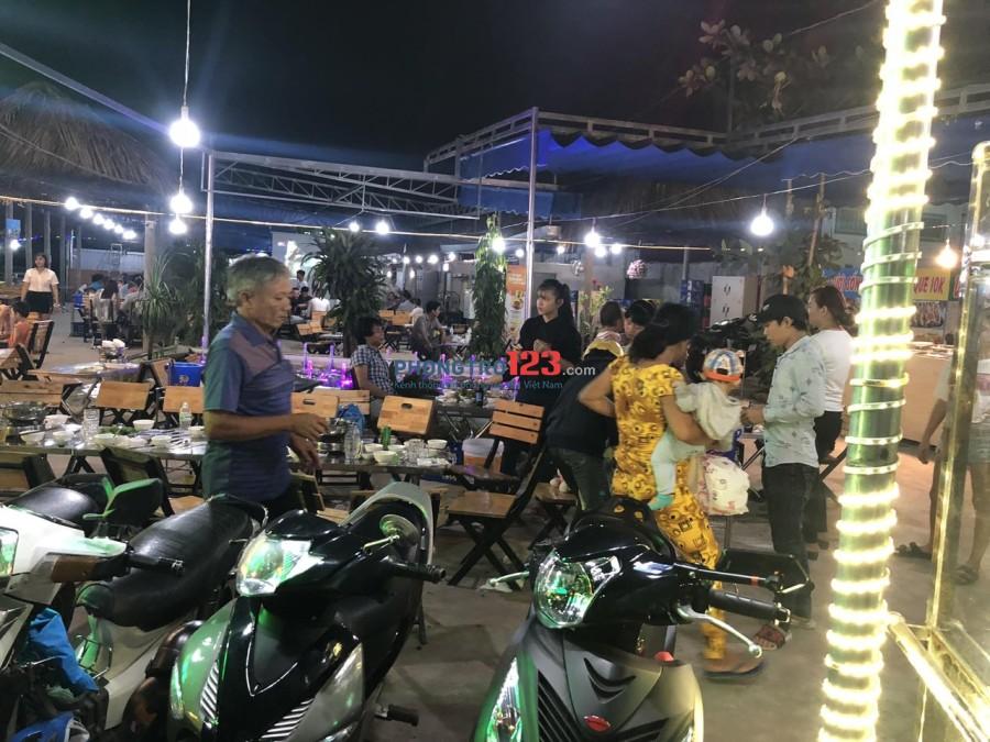 Cho thuê or Sang Quán Nhậu 1000m2 Mặt tiền Đinh Đức Thiện, Huyện Bình Chánh Mr Văn