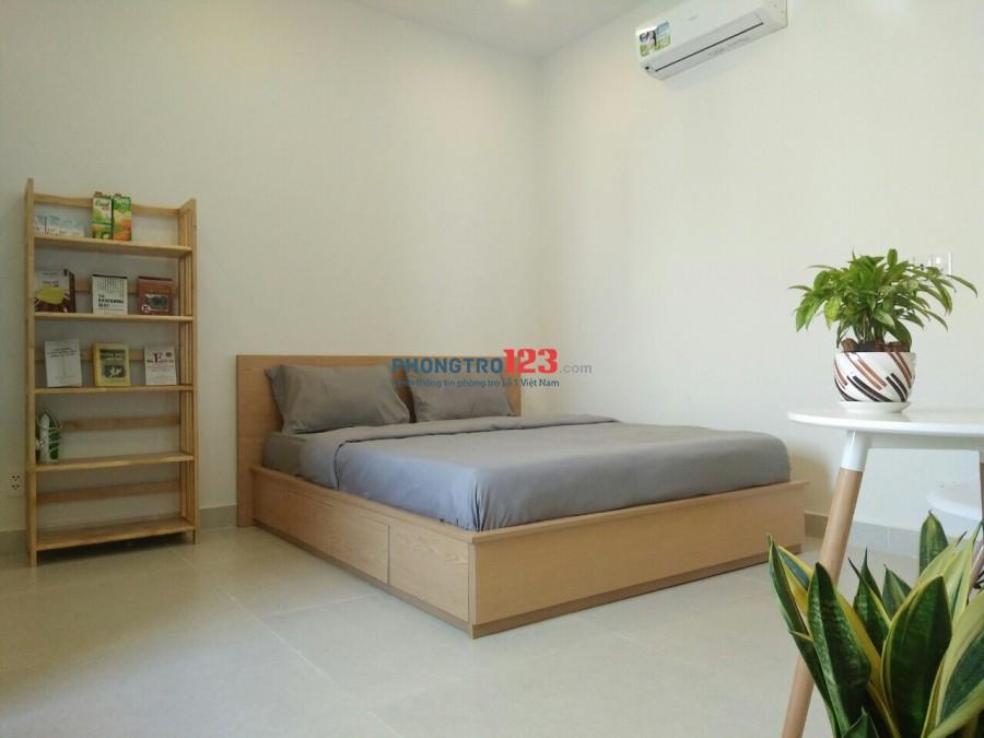 Cho thuê căn hộ studio full nội thất đường Thành Thái gần ngã 4 Nguyễn Tri Phương, Q.10